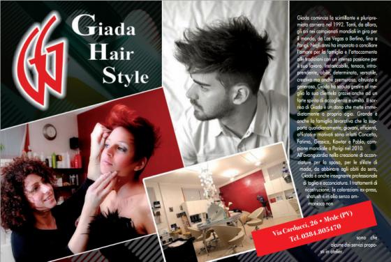 Giada Hair Style - Gioia 2013